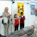 Approached by the Foundation at Maidstone Studios to be a CPR dummy for a Tricky TV Wicked Wind-up prank. The filming would take place in the Oaks shopping centre in Maidstone.